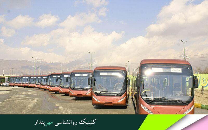 قرارداد همکاری مرکز مشاوره مهرپندار و شرکت اتوبوسرانی تهران و حومه